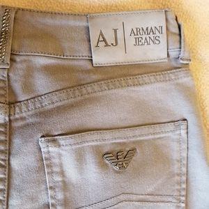 Armani Jeans Slim Fit Comfort Fabric Size 27 NWT